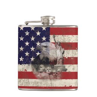 Cantil Bandeira e símbolos dos Estados Unidos ID155