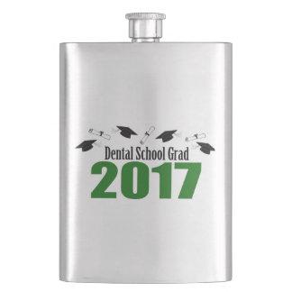 Cantil Bonés do formando 2017 da escola dental e diplomas