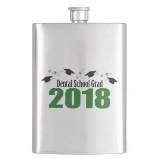 Cantil Bonés do formando 2018 da escola dental e diplomas