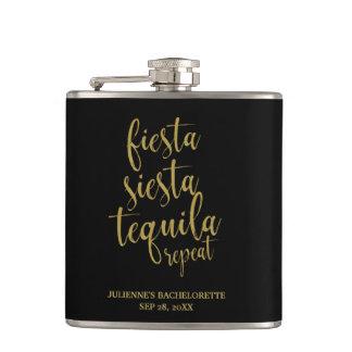 Cantil Brilho Bachelorette da repetição do Tequila do