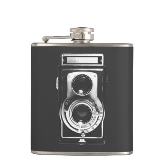 Cantil Câmera do b&w do vintage
