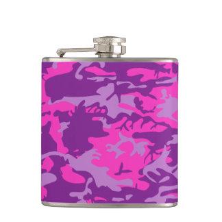 Cantil Camo cor-de-rosa e roxo