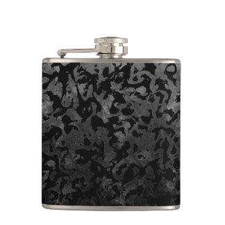 Cantil Camuflagem cinzenta preta e escura de Camo moderno