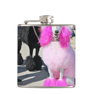Cantil Caniche padrão cor-de-rosa do dia 2016 da caniche