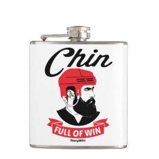 Cantil Cheio de Chin da barba do hóquei da vitória