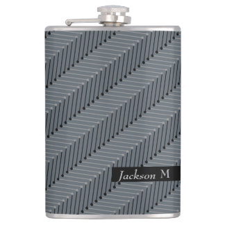 CANTIL CHIQUE FLASK_MODERN ZIGZAG/NAME/MONOGRAM