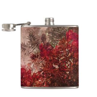 Cantil Colagem floral da beleza