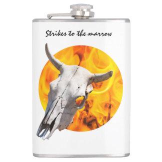 Cantil Crânio e fogo da vaca