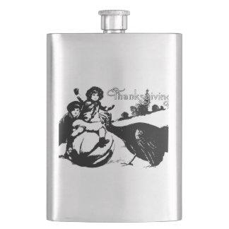 Cantil De Bebida Acção de graças do vintage