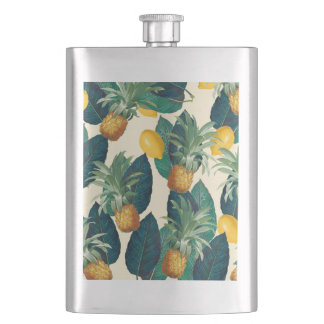Cantil De Bebida amarelo dos limões dos abacaxis