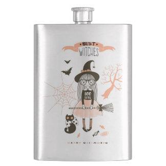 Cantil De Bebida As melhores bruxas o Dia das Bruxas feliz