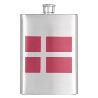 Cantil De Bebida Bandeira de Dinamarca ou do pano dinamarquês