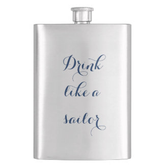 Cantil De Bebida Bebida como um marinheiro