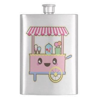 Cantil De Bebida Carro doce bonito - sorvete