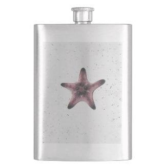 Cantil De Bebida Estrela do mar no teste padrão branco do