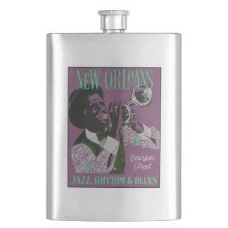 Cantil De Bebida Garrafa da música de Nova Orleães
