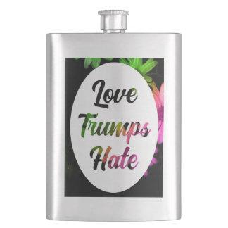 Cantil De Bebida Garrafa do ódio dos trunfos do amor