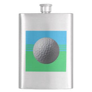 Cantil De Bebida Jogador de golfe dentro da garrafa clássica