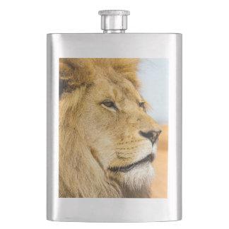 Cantil De Bebida Leão grande que olha longe