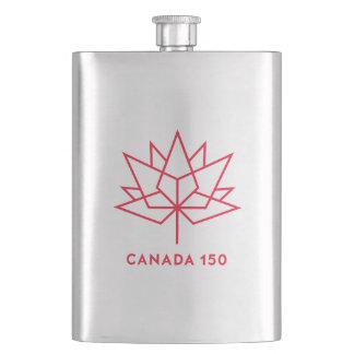 Cantil De Bebida Logotipo do oficial de Canadá 150 - esboço