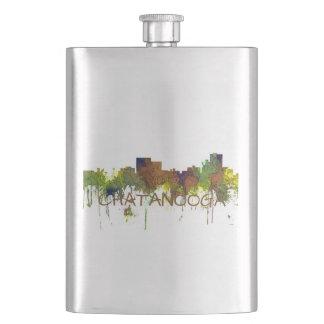 Cantil De Bebida Lustre do safari da skyline de Chatanooga