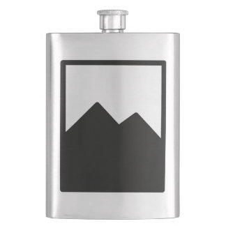Cantil De Bebida Modelo da garrafa do metal