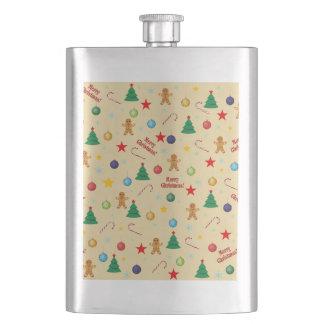 Cantil De Bebida Teste padrão do Natal