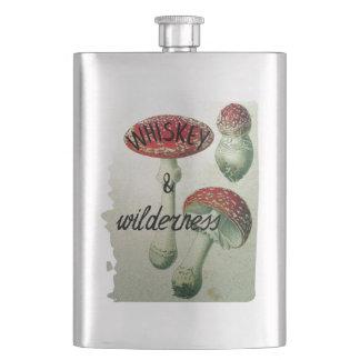 Cantil De Bebida Toadstool do uísque & da região selvagem