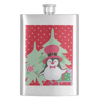 Cantil De Bebida Um pinguim festivo - 1