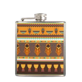 Cantil Design africano do impressão do teste padrão do