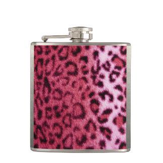Cantil Design cor-de-rosa do teste padrão do leopardo