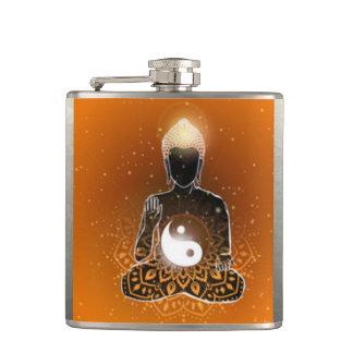 Cantil Design de Ying Yang da meditação de Buddha