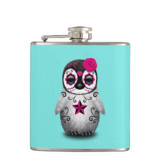 Cantil Dia cor-de-rosa do pinguim inoperante do bebê