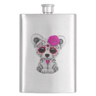 Cantil Dia cor-de-rosa do urso polar do bebê inoperante