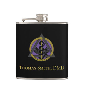 Cantil Emblema feito sob encomenda do dentista do
