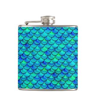 Cantil Escalas do azul do Aqua de Falln