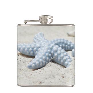 Cantil Escudo e areia bonitos de estrela do mar da praia