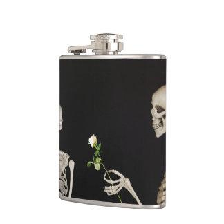 Cantil Esqueletos o Dia das Bruxas feliz romântico