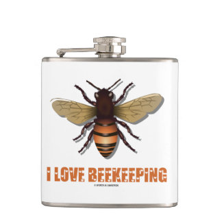 Cantil Eu amo o Apiarist da atitude da abelha da