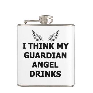 Cantil Eu penso minhas bebidas do anjo-da-guarda
