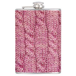 Cantil Fio cor-de-rosa malha cabografada