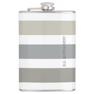 CANTIL FLASK_BOLD NEUTRALS/NAME DO CHIQUE GENTLMAN