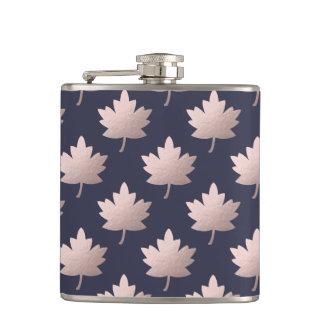Cantil folhas cor-de-rosa claras elegantes da folha de