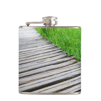Cantil Fuga de caminhada de madeira do passeio à beira
