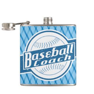 Cantil Garrafa anca customizável do treinador de basebol