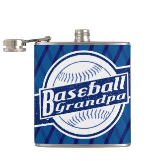 Cantil Garrafa anca de aço inoxidável do vovô do basebol