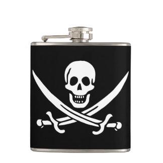 Cantil Garrafa da bandeira de pirata de Jack Rackham da