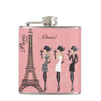 Cantil Garrafa da celebração de Paris