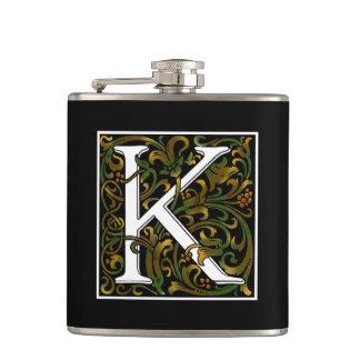 Cantil Garrafa da cor do monograma K