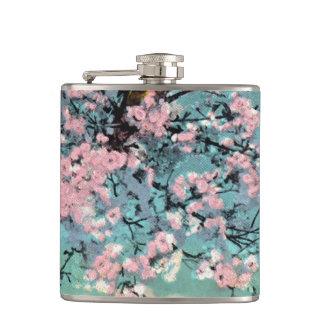 Cantil Garrafa das flores de cerejeira